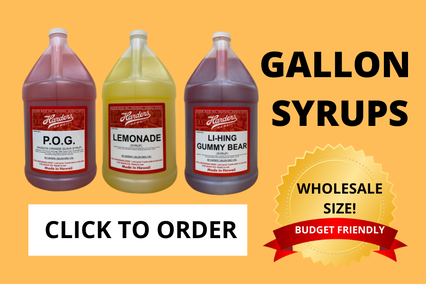 gallon syrups, click to order