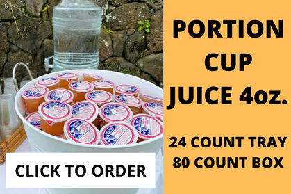 juice portion cups, click to order